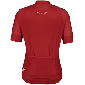 Maloja PlansM. Short Sleeve Bike Jersey Men red poppy